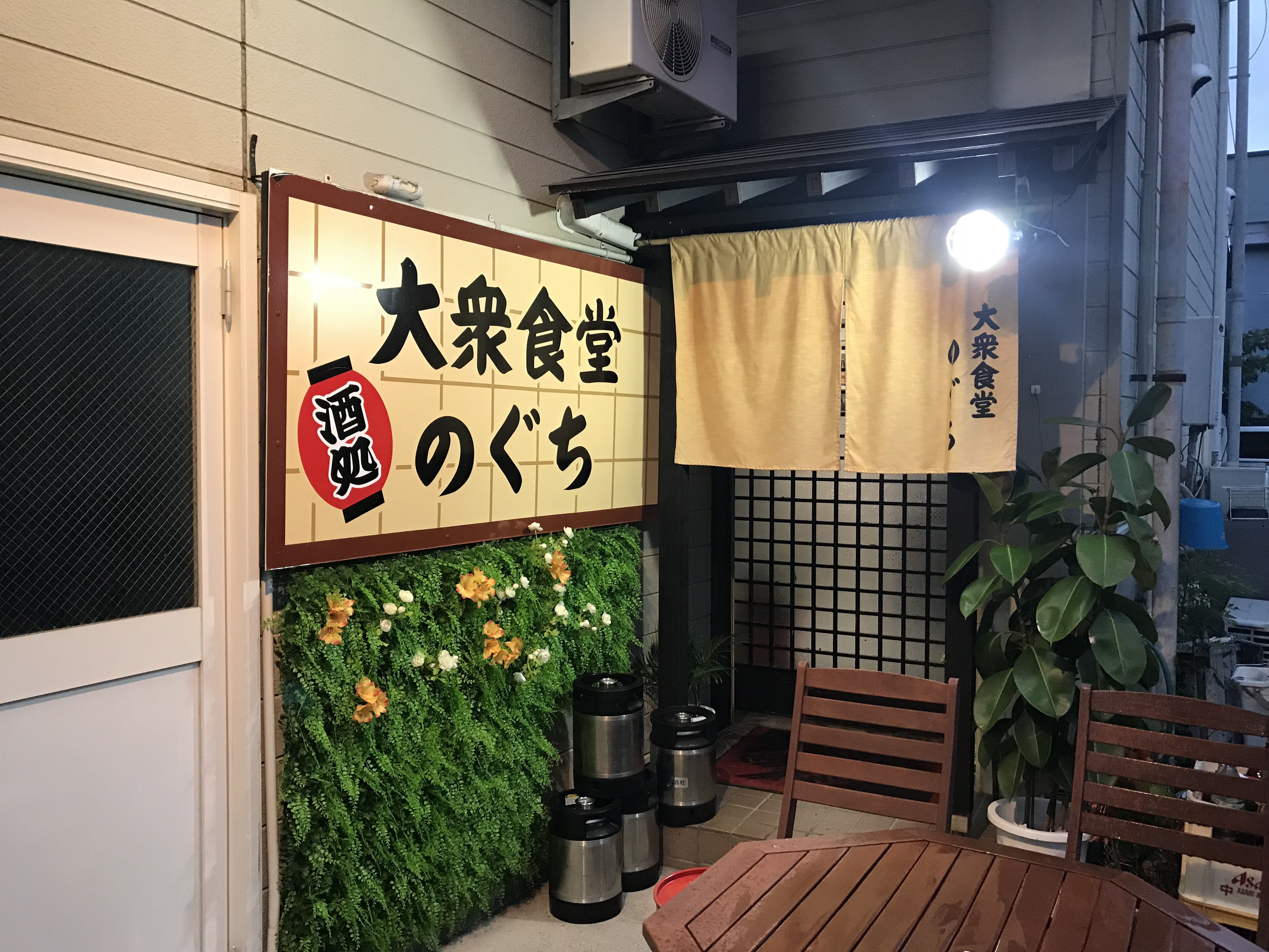 大衆食堂のぐち